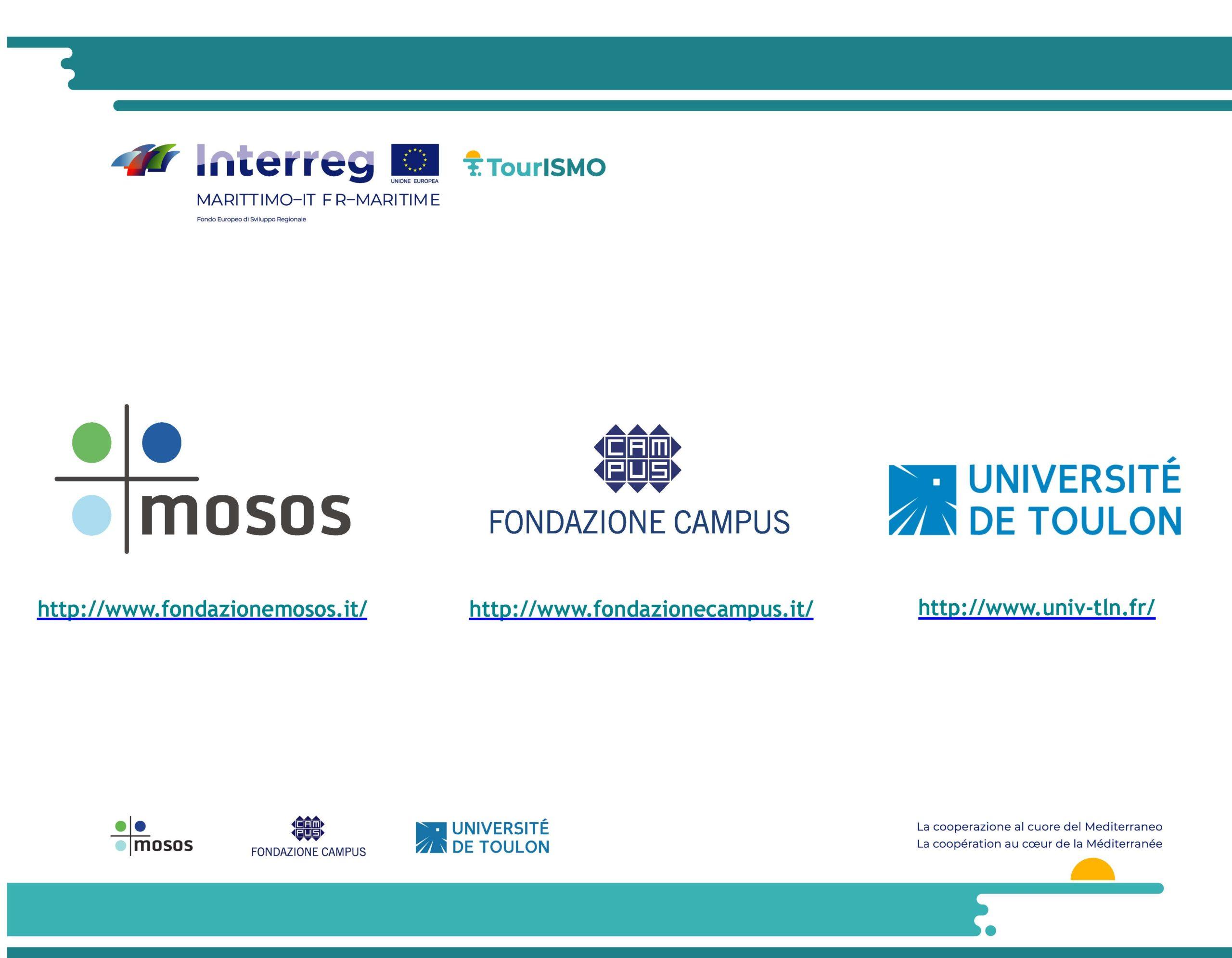 Logo des partenaires et chef de file TOURISMO