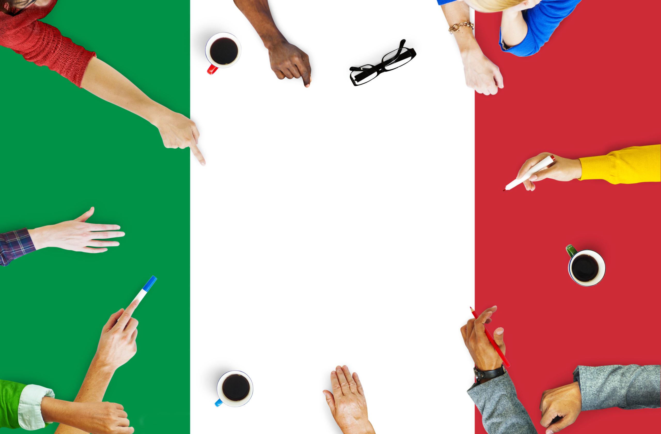 communication bilingue italien